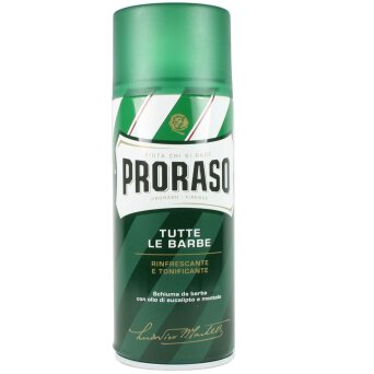 Proraso Green Shaving Foam pianka do golenia, skóra normalna 400ml